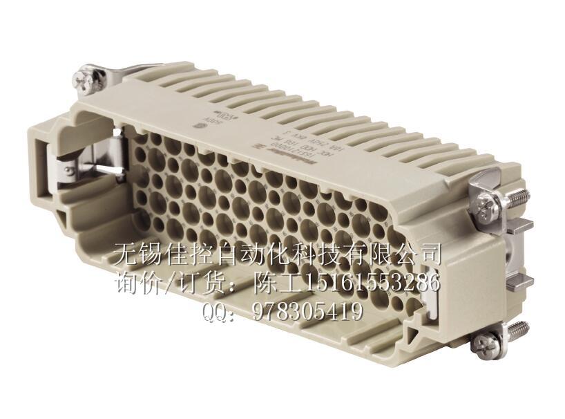 类型 HDC HDD 108 MC 订货号 1651210000 版本 HDC - 插芯, 插頭, 250 V, 10 A, 回路数: 108, 冷压联接, 产品外形尺寸: 8 GTIN (EAN) 4008190299811 最小包装数 1 pc(s). 类型 HDC HDD 108 FC 订货号 1651220000 版本 HDC - 插芯, 插座, 250 V, 10 A, 回路数: 108, 冷压联接, 产品外形尺寸: 8 GTIN (EAN) 4008190299828 最小包装数 1 pc(